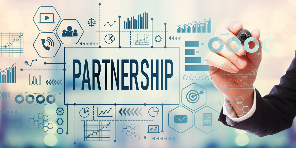 Partner with other businesses to sail through these tough times together.