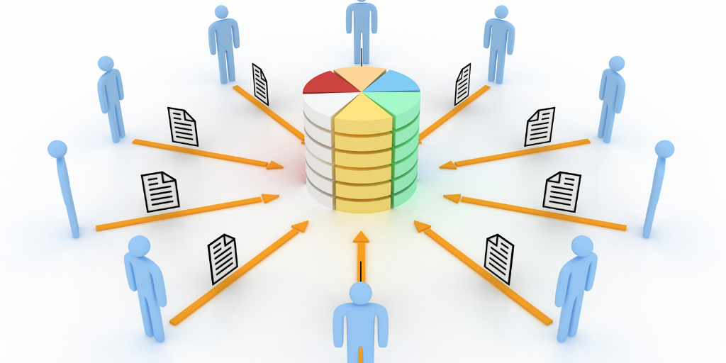 Processing unused data helps create a central database of valuable information.