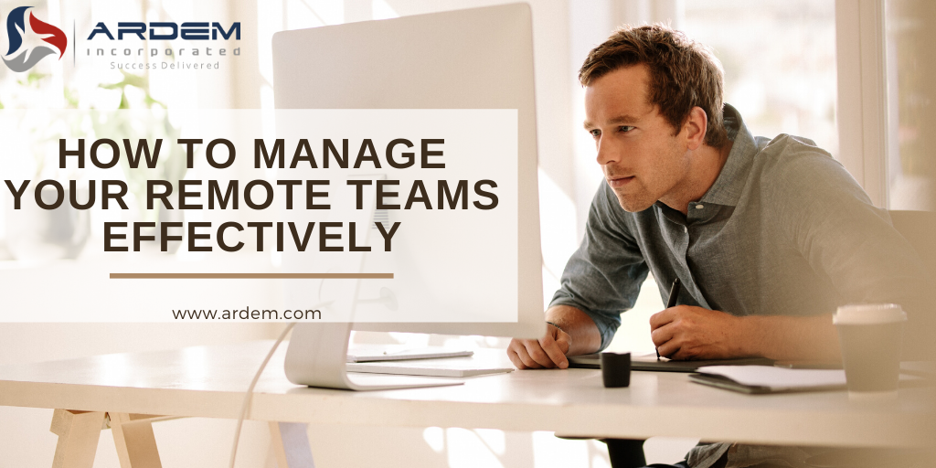 Manage your remote teams with the ARDEM Collaboration Platform