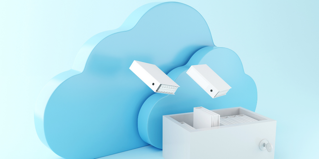Keep your data secure using cloud content storage.