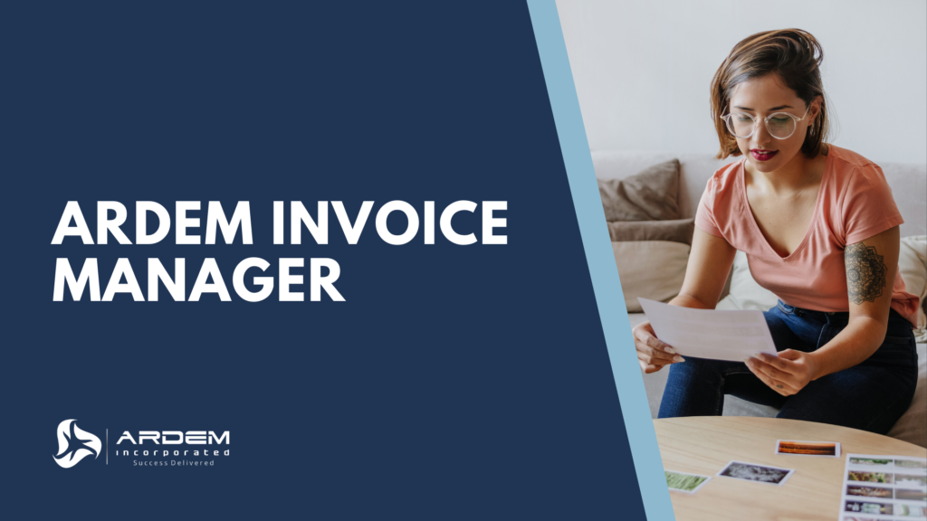 Enjoy advanced processing with the ARDEM Invoice Manager