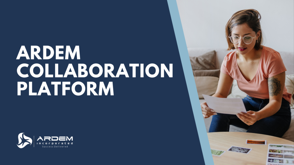 The ARDEM Collaboration Platform offers you a fully-integrated digital workspace.