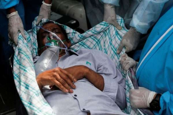 Hospitals Overrun in India